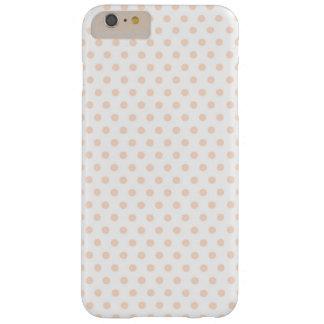 Blush Polka Dot Cute iPhone Case
