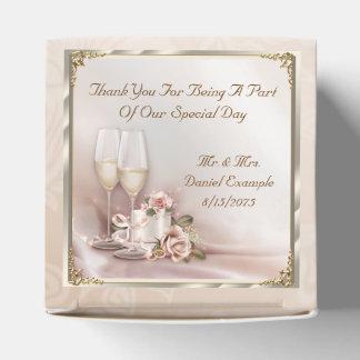 Blush Wedding Favor Gift Boxes