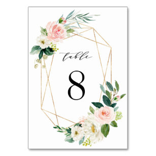 Frame Wedding Table Numbers Zazzlecomau
