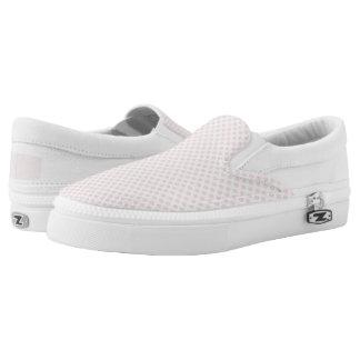 Blushing Bride Polka Dots Slip On Shoes