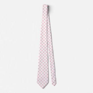 Blushing Bride Polka Dots Tie