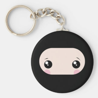 Blushing Kawaii Ninja Key Ring