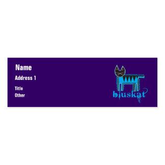 Bluskat Business Card Template