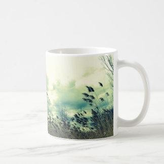 Blustering Field Basic White Mug