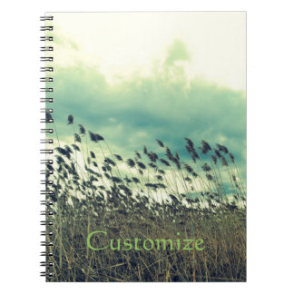 Blustering Field Spiral Note Book