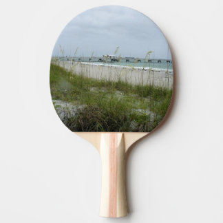 Blustery Day at the Beach Ping Pong Paddle