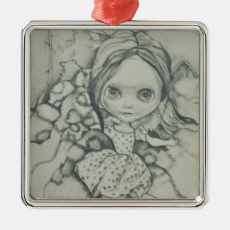 Blythe doll products metal ornament
