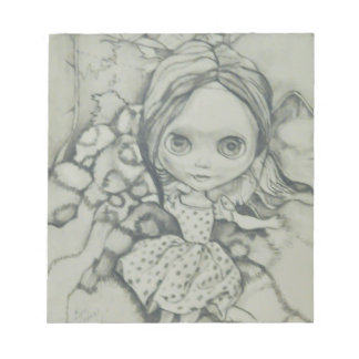 Blythe doll products notepad