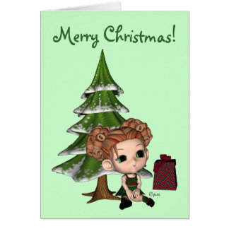 Blythe's World - Merry Christmas - Greeting Card