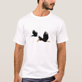 Blyth's Hornbill Birds - They Symbol of True Love T-Shirt