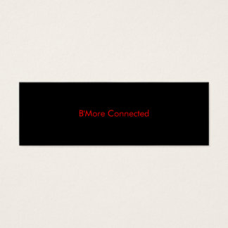 B'More Connected Biz Card 1