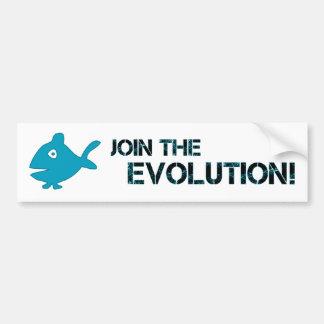 BMP Join the Evolution! Bumper Sticker