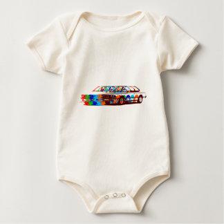 BMW Classic Full Colours Baby Bodysuit