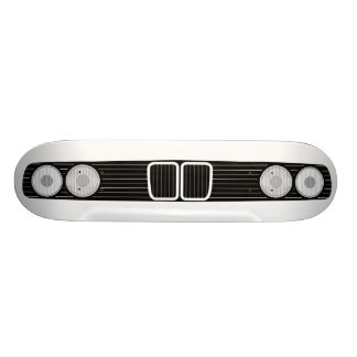 BMW E30 front 21.3 Cm Mini Skateboard Deck