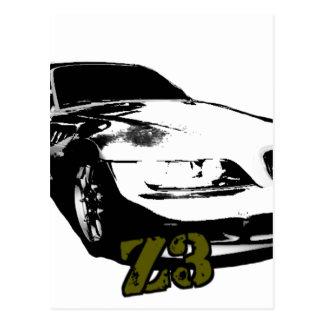 BMW Z3 goods Postcard
