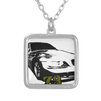 BMW Z3 goods Silver Plated Necklace
