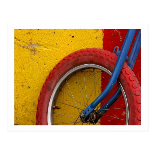 BMX Bike Bicycle Cycle Bicycling Cycling Postcard