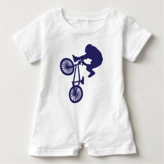 BMX-Biker Baby Bodysuit