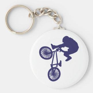 BMX Biker Key Ring