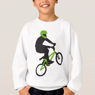 BMX Biker trick jump Sweatshirt