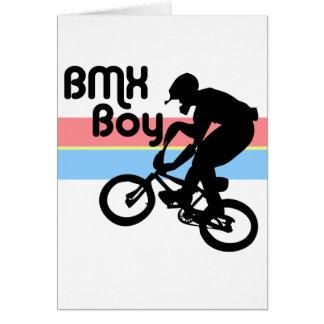 BMX Boy BMX Girl Greeting Card