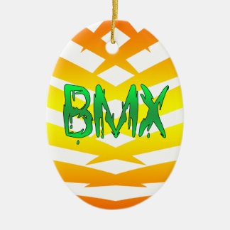 Bmx Ceramic Oval Decoration