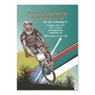 BMX Challenger Invitation