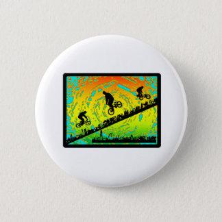 BMX City 6 Cm Round Badge