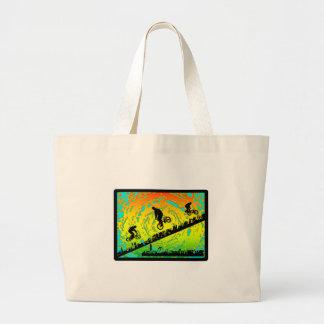 BMX City Large Tote Bag