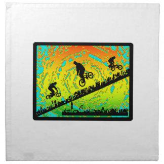 BMX City Napkin
