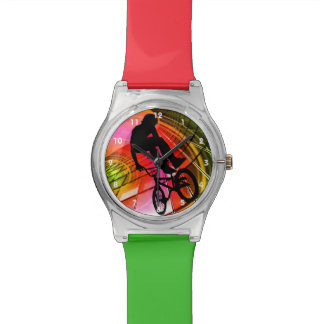 BMX in Lines & Circles Watch