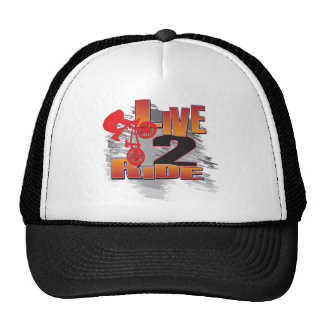 BMX Live to Ride Ride to Live Trucker Hat