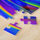 BMX on a Rainbow Road Jigsaw Puzzle