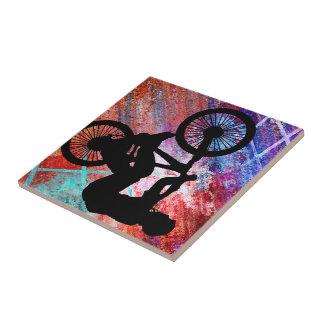 BMX on Rusty Grunge Tile