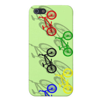 BMX rider bicyle cycling dirt track cyclist iPhone 5/5S Case