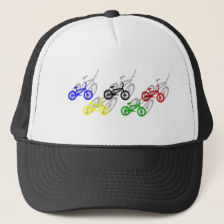 BMX rider bicyle cycling dirt track cyclist Trucker Hat