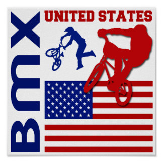 BMX United States Poster