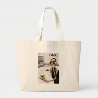 BNC Digital Skull Jumbo Tote Bag