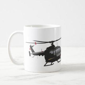 Bo.105 Helicopter Basic White Mug