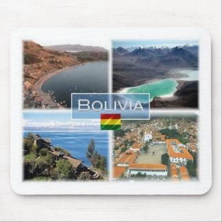 BO Bolivia - Copacabana - Laguna Verde - Mouse Pad