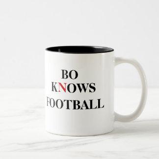 BO KNOWS FOOTBALL MUG