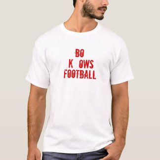 BO KNOWS FOOTBALL T-Shirt