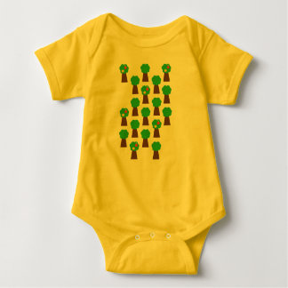 Bo muck with tree standards baby bodysuit