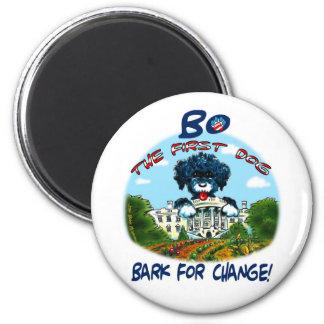 "Bo Obama ""Bark for Change!"" Magnet"