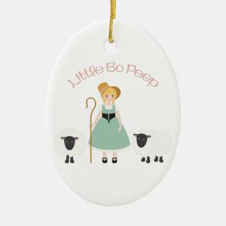 Bo Peep Ceramic Ornament