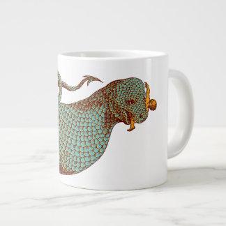 Boa Constrictor Eating Large Coffee Mug