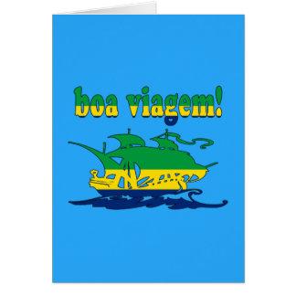 Boa Viagem - Good Trip in Brazilian - Vacations Note Card