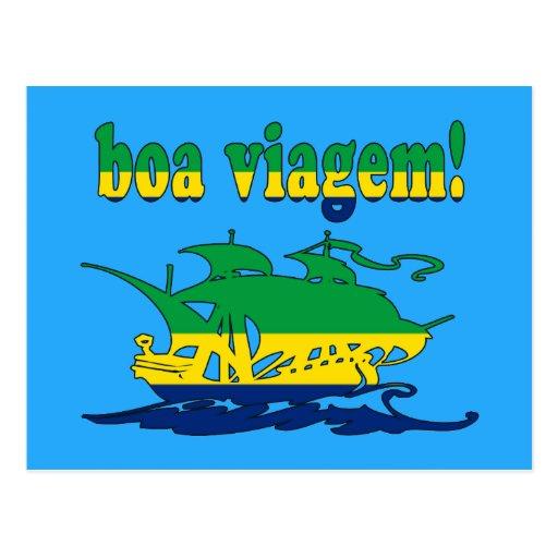 Boa Viagem - Good Trip in Brazilian - Vacations Post Card