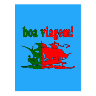 Boa Viagem - Good Trip in Portuguese - Vacations Postcard