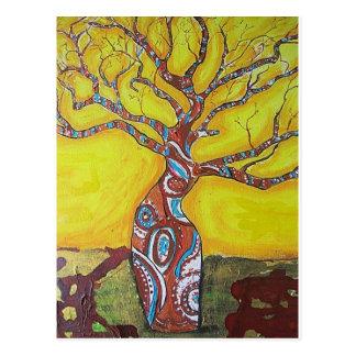 Boab tree Bright Postcard